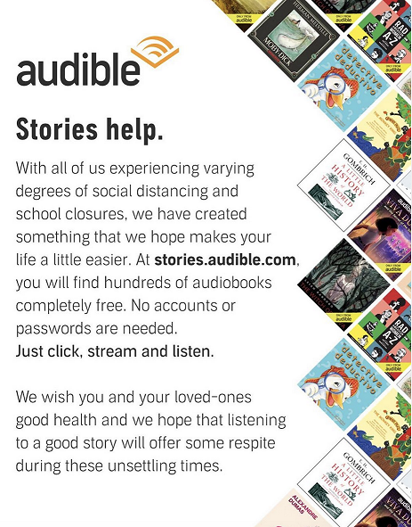 Audible Free Stories